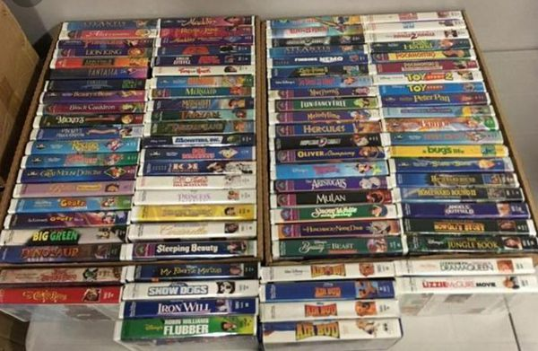 Tons Of Disney Vhs Tapes For Sale In Ruskin Fl Offerup
