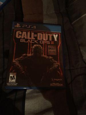 Black Ops 3 PS4 for Sale in Alexandria, VA
