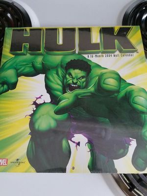 Incredible HULK 16 Month Calendar [2004] Collectors Item for Sale in Bowie, MD