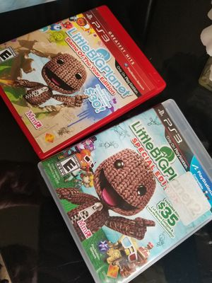 ⚡PS3 GAMES - LITTLE BIG PLANET⚡ for Sale in Hyattsville, MD