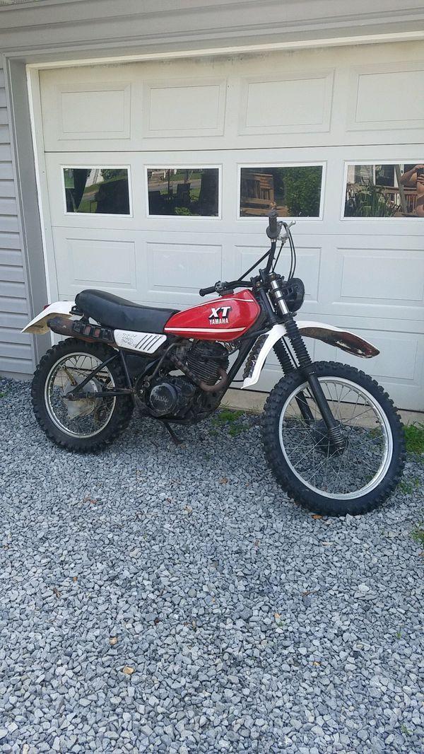 Yamaha 250xt