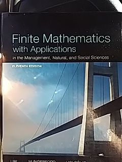 Finite Mathematics with Applications 11th edition for Sale in Seattle, WA