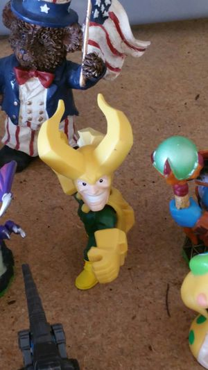 Assorted children's action figure toys for Sale in Peoria, AZ