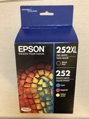 Epson 252XL Ink (brand new - unopened) for Sale in Houston, TX