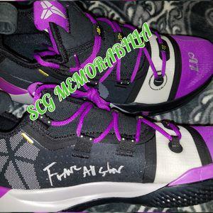 19d2c8b3826 Dual kyle kuzma autographed kobe ad shoes psa coa for Sale in Pico Rivera