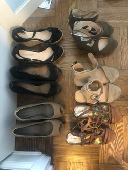 Various Wedge Heels - $1 to $5 Thumbnail