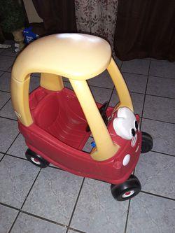 Little tikes mini coop car Thumbnail