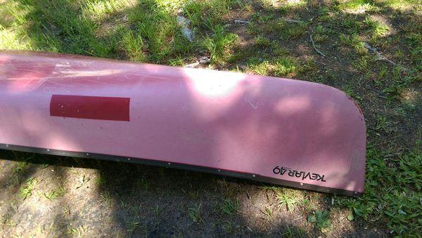 Mohawk Kevlar 49 Aramid Canoe 16 ft for Sale in North ...