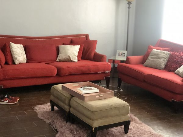 Enjoyable Red Couch And Sofa Set For Sale In Phoenix Az Offerup Alphanode Cool Chair Designs And Ideas Alphanodeonline