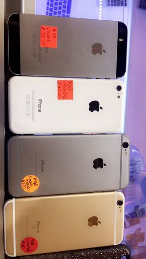 I phones for sale >>>!!! Descriptions written on it > for Sale in Miami, FL