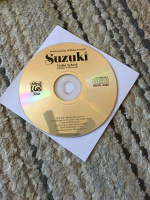Suzuki violin cd for Sale in San Antonio, TX