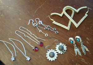 Dangling earrings and studs for sale  Owasso, OK