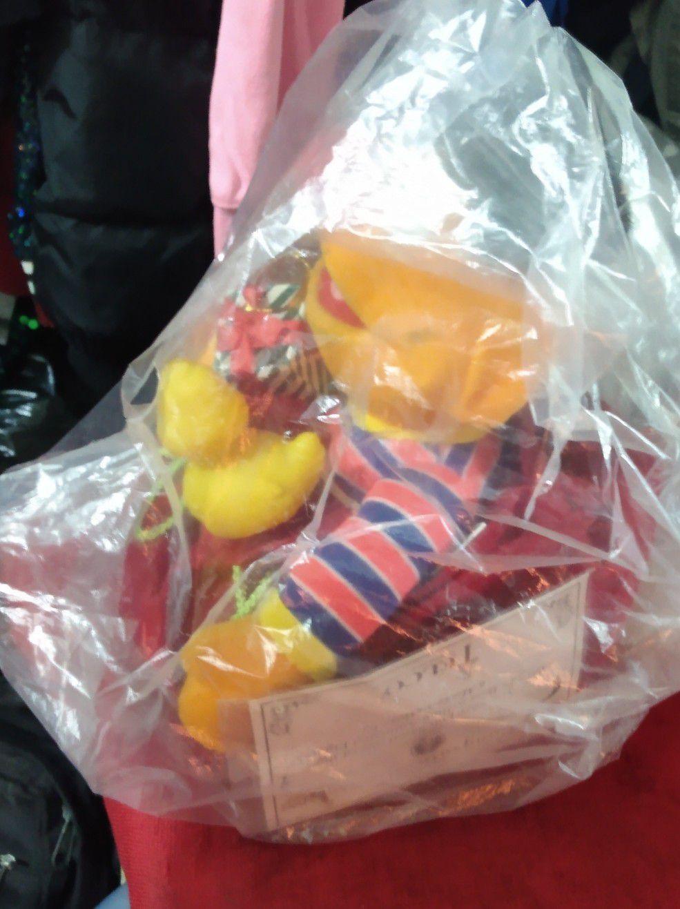 Elmo in Xmas bag