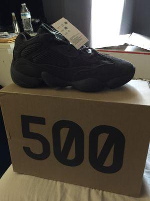 Yeezy black 500 Size 9.5 DS for Sale in Manassas, VA