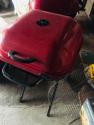 BBQ Charcoal Grill in Red for Sale in US