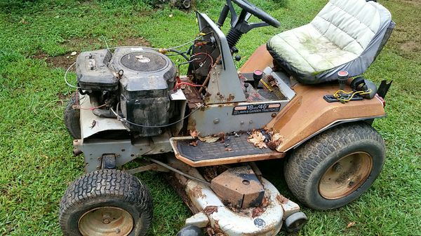 Lowes Lawn Tractor 18 Hp 46 For Sale In Mooresville Nc Offerup