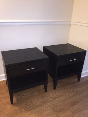 West Elm Nightstands for Sale in Alexandria, VA