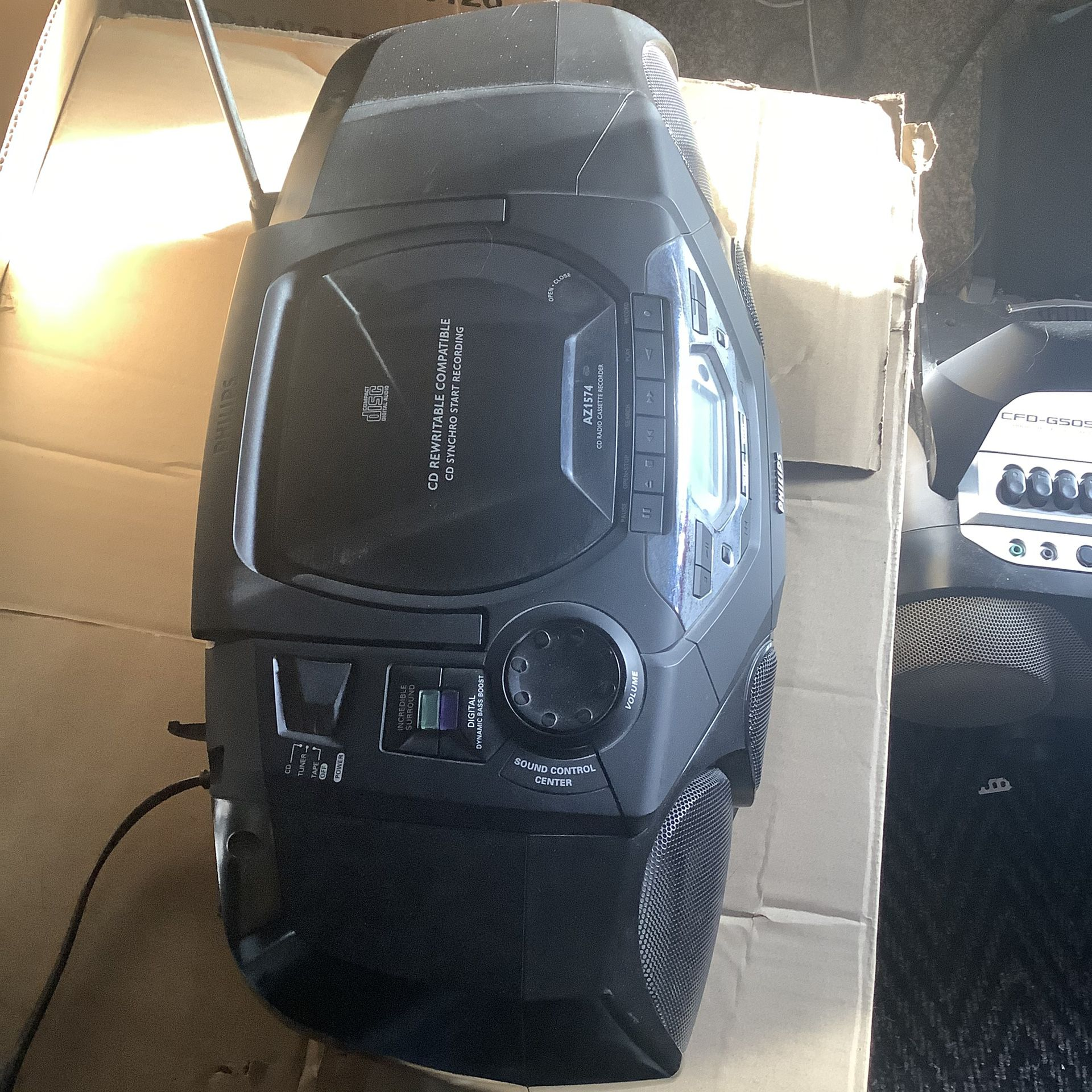 Philips  Radio  Cassette Cd