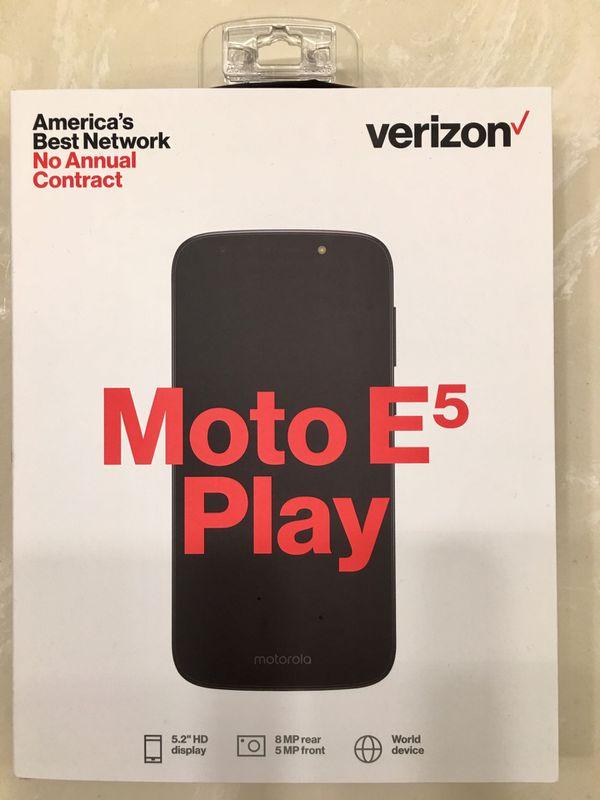 Verizon Moto E5 Play Prepaid Phone for Sale in Miami, FL - OfferUp
