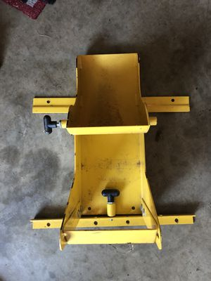 Zero turn lawn mower trailer wheel lock - pro locker for Sale in  Clarksburg, MD - OfferUp