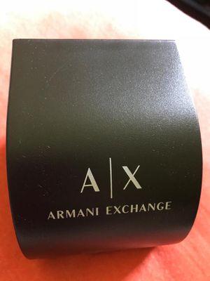 Photo Authentic armani exchange watch for men