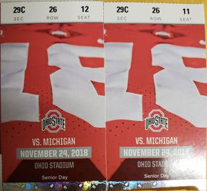"""OSU vs Michigan """"THE GAME"""" for Sale in Bexley, OH"""