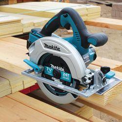 MAKITA XSR01Z 18V X2 36V LXT Brushless Cordless 7-1/4 in Circular Saw Thumbnail