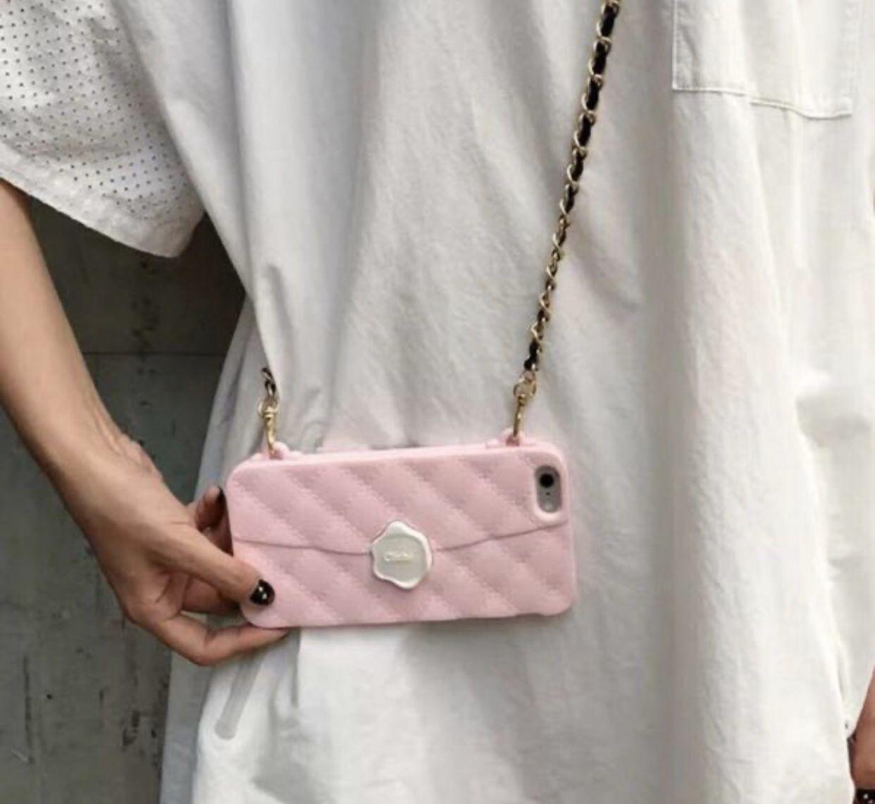 Pink IPhone X phone case - Cliché Brand