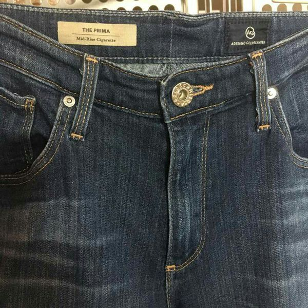 1dafdb375f4a85 Adriano Goldschmied Jeans--size 29--mid-rise cigarette style (1014988)  (Clothing   Shoes) in South San Francisco