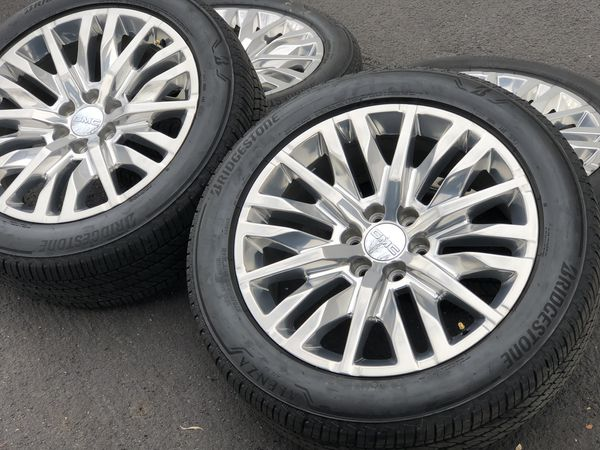 "2019 GMC Sierra Yukon Denali OEM 22"" Wheels Tires Chevy ..."