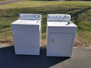 Photo GE Washer & Frigidaire Dryer - Working condition, just need cleaned!