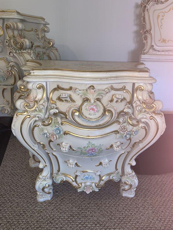 Rococo style original antique bedroom furniture for sale - Bedroom furniture in los angeles ...
