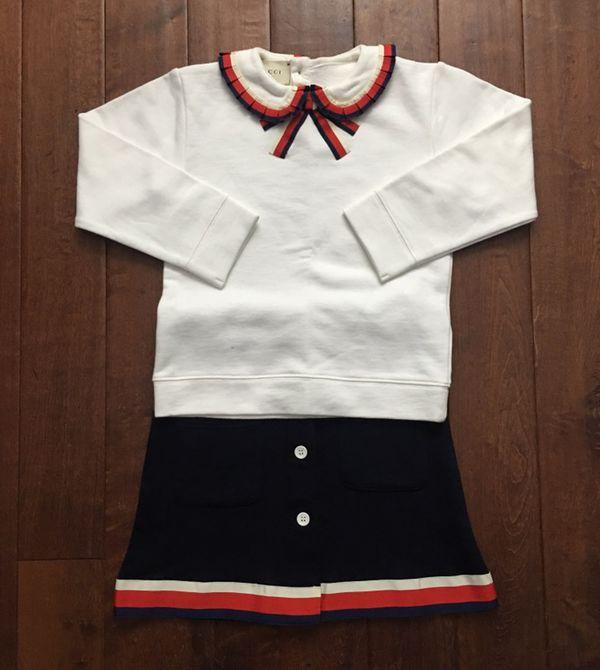3c56a323e27 Kids GUCCI  SYLVIE  Web sweatshirt   skirt set. Philadelphia ...