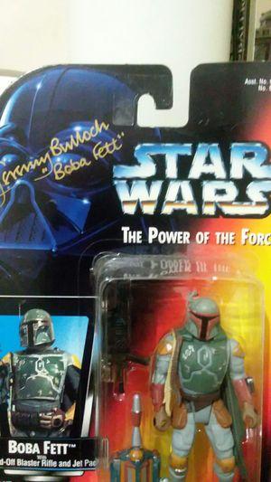 Signed Boba Fett Star Wars POTF action figure for Sale in Phoenix, AZ