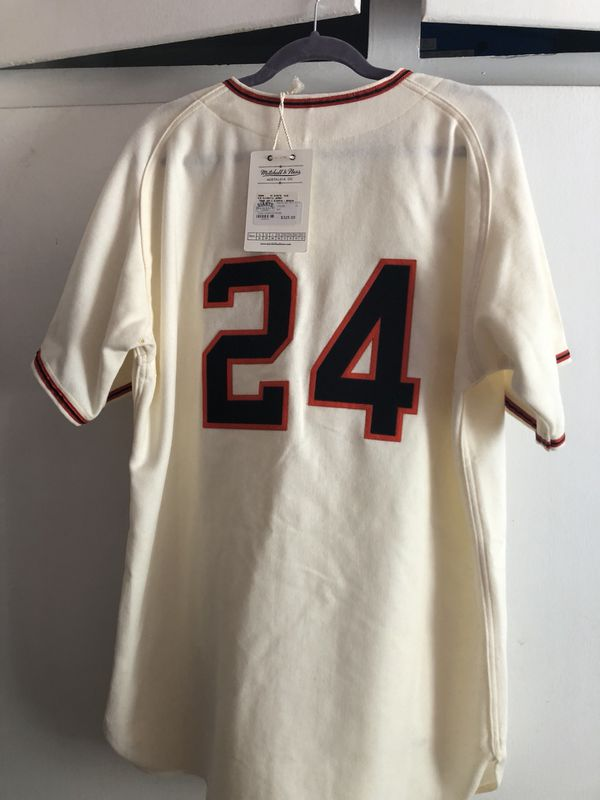 Nice Willie Mays throwback Mitchell & Ness 1951 New York Giants jersey  free shipping