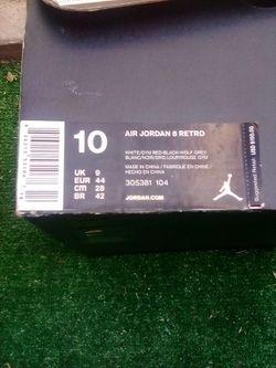 Air Jordan 8 Retro Size:10 Thumbnail