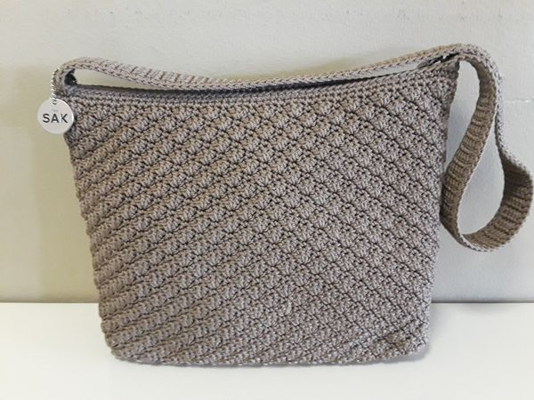 The Sak Crochet Shoulder Purse For Sale In Queens Ny Offerup