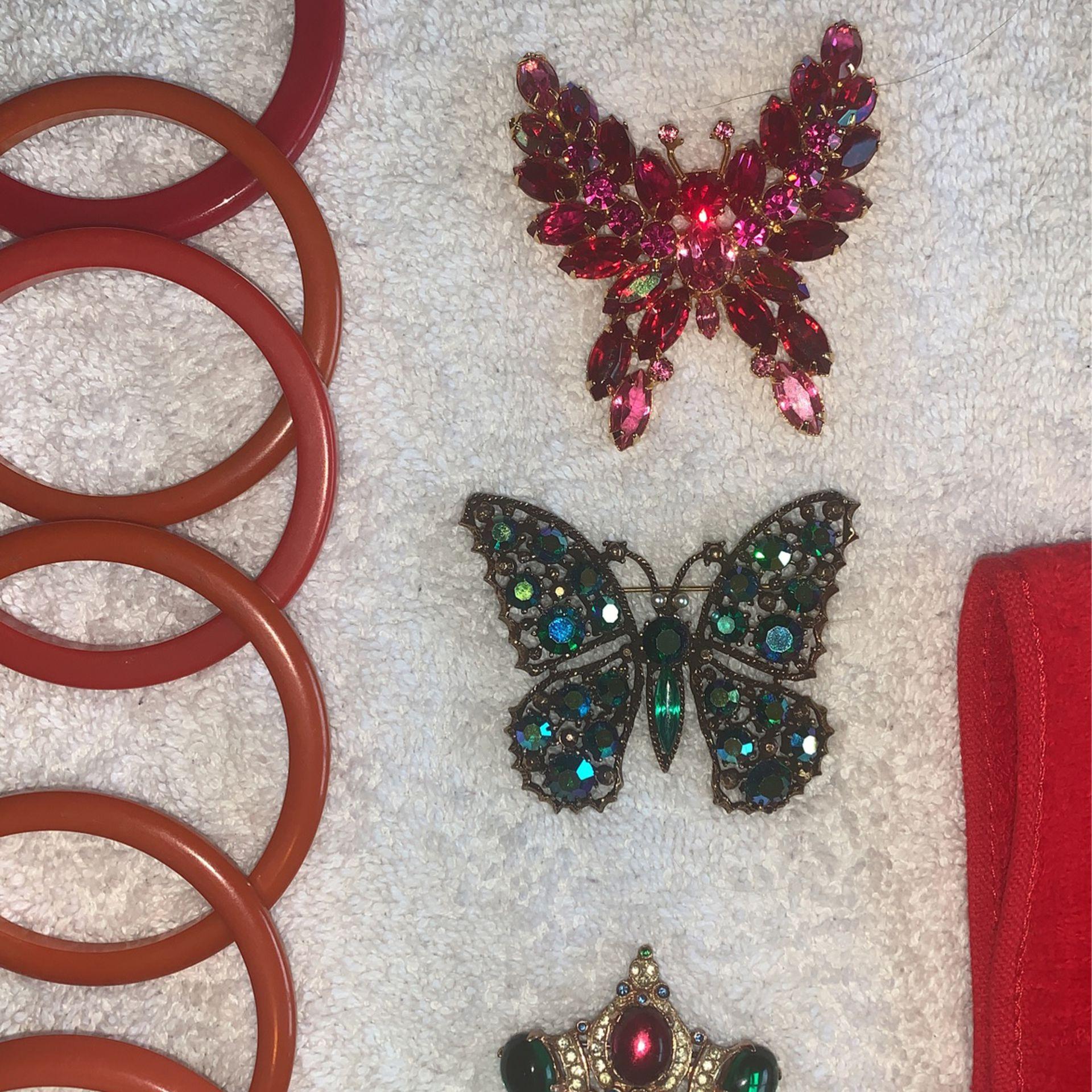 Vintage Jewelry 40's And 50's Era