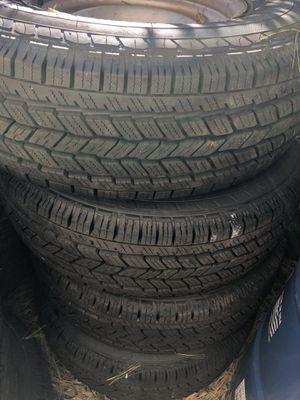Tires (llantas para una Chevrolet express 1500) for Sale in Springfield, VA