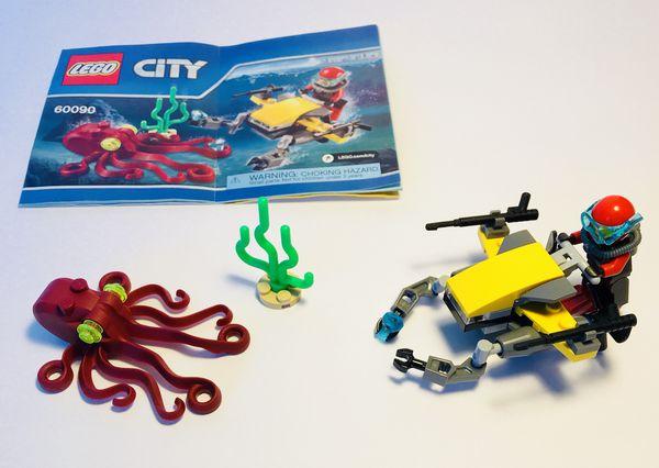 Lego City Deep Sea Scuba Scooter