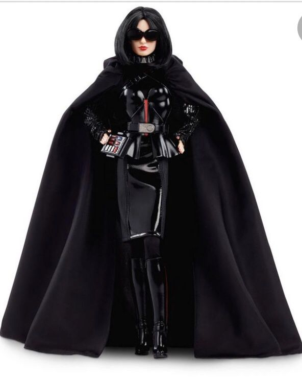 Darth Vader Barbie doll