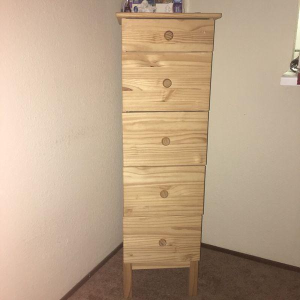quality design e2084 5381b ikea tarva 5 drawer - chest of drawers