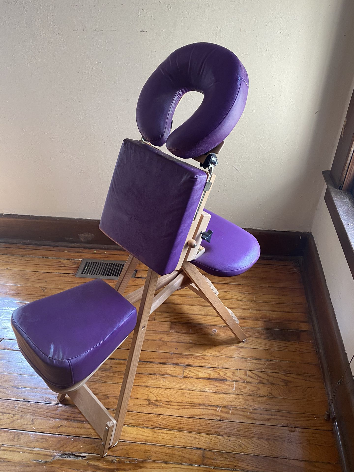 Purple StrongLite Massage Chair