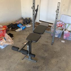 Weider Bench and Rack Thumbnail