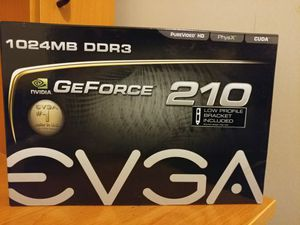 Evga GeForce 210 1GB DDR3 Graphics Card for Sale in Arlington, VA
