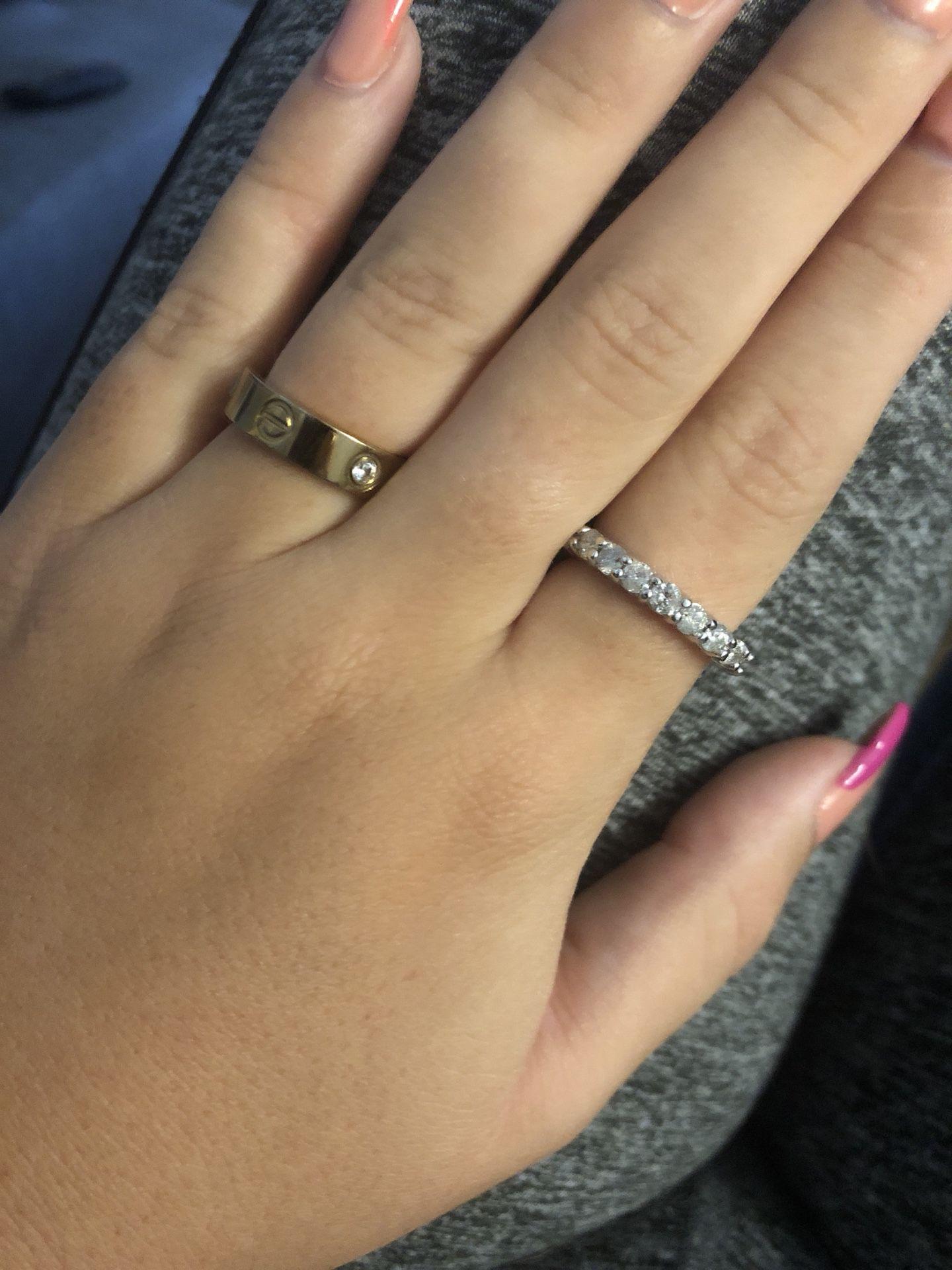 2 carat ring