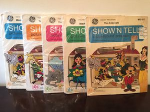 Vintage Show-N Tell Picturesound Programs - 5 Total for Sale in Baltimore, MD