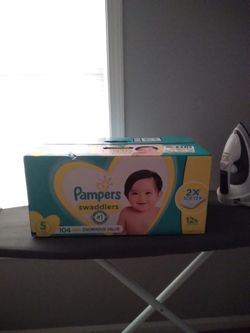 BRAND NEW PAMPERS $20 ANY SIZE Thumbnail