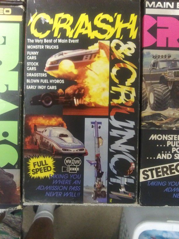 COLLECTION VHS TRACK FREAKS