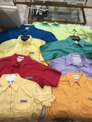 Columbia fishing shirts for Sale in Austin, TX
